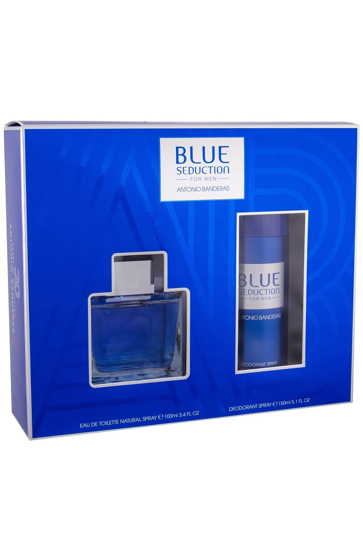 Antonio Banderas Blue Seduction EDT 100 ml Erkek Parfüm Seti