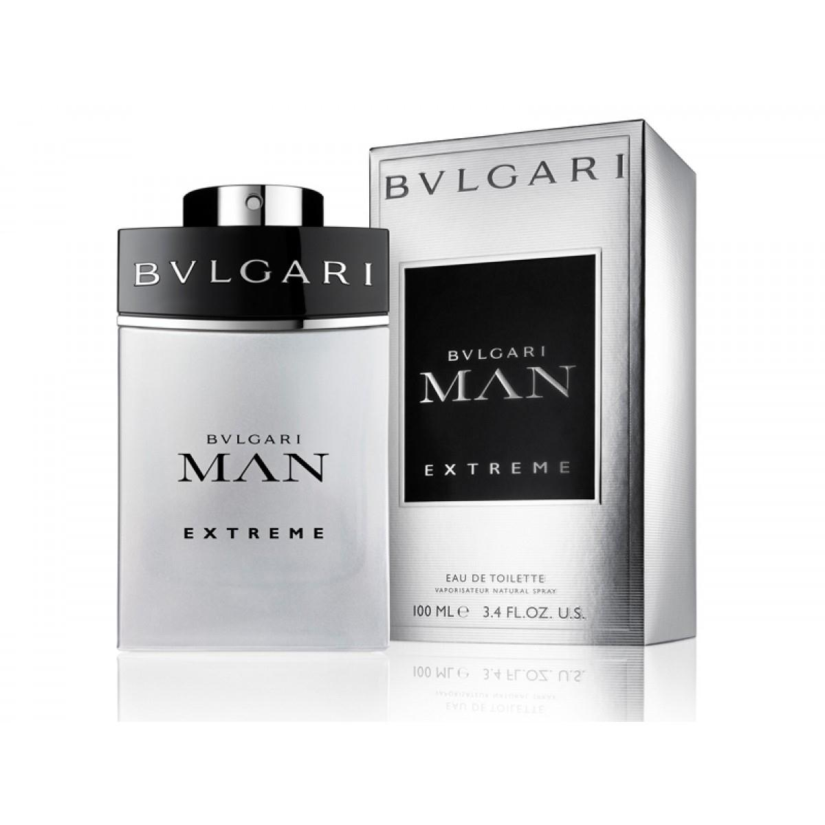 Bvlgari Man Extreme EDT 100 ml Erkek Parfüm