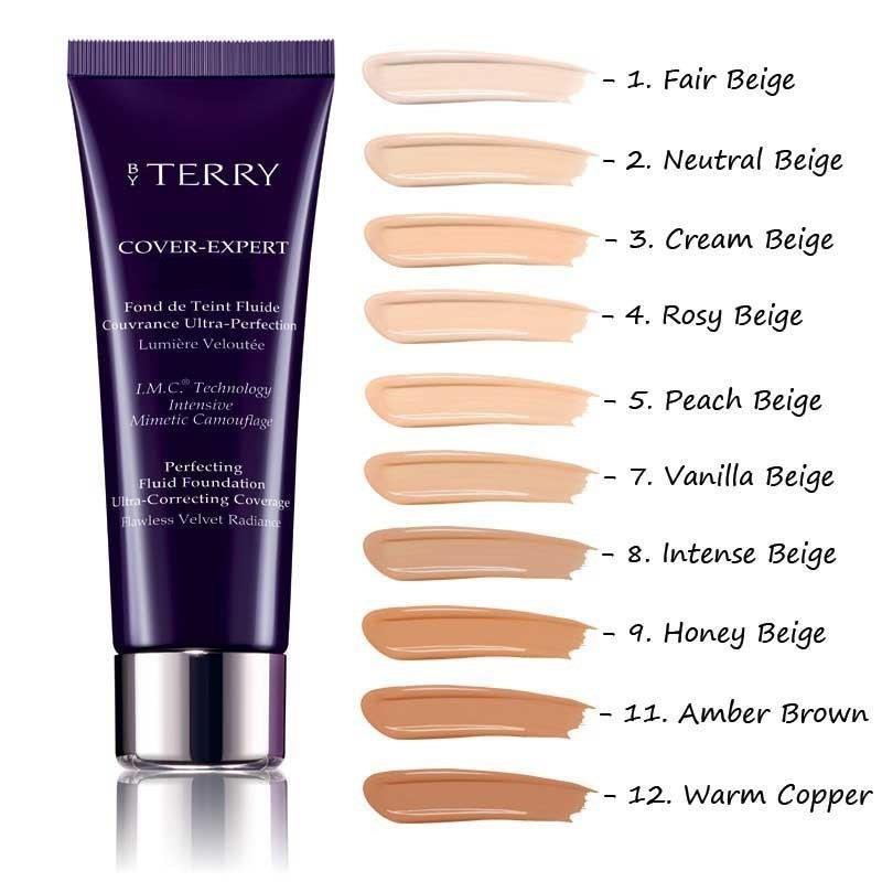 By Terry Cover Expert Perfecting Fluid Foundation 1 Fondöten