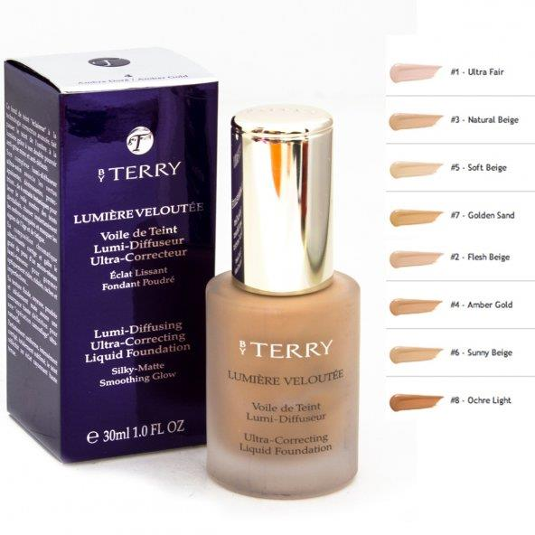 By Terry Lumiere Veloutee Liquid Foundation 8 Fondöten