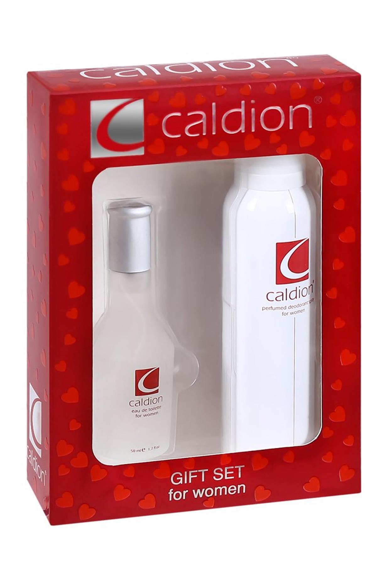 Caldion EDT 50 ml Kadın Parfüm Seti