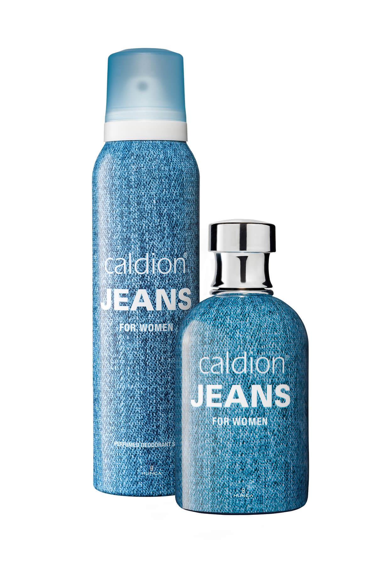 Caldion Jeans EDT 100 ml Kadın Parfüm Seti