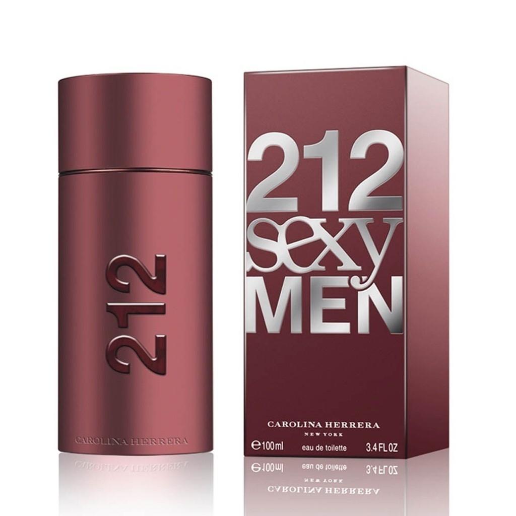 Carolina Herrera 212 Sexy Edt 100 ml Erkek Parfümü