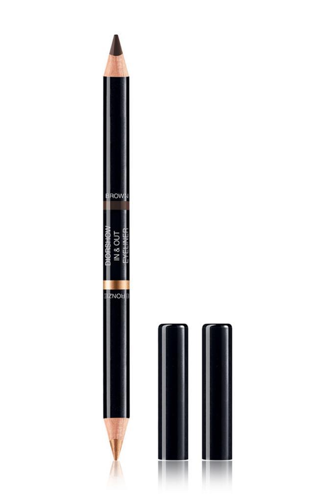 Dior Diorshow In&Out  Waterproof 002 Bronze/Brown Eyeliner