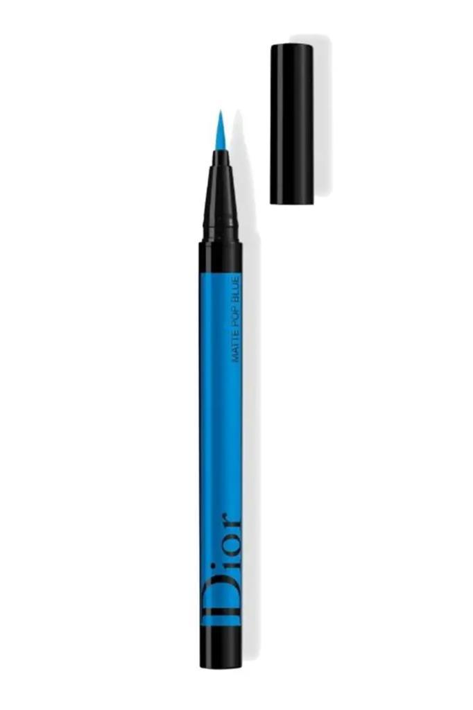 Dior Diorshow On Stage Liner Waterproof 261 Matte Pop Blue