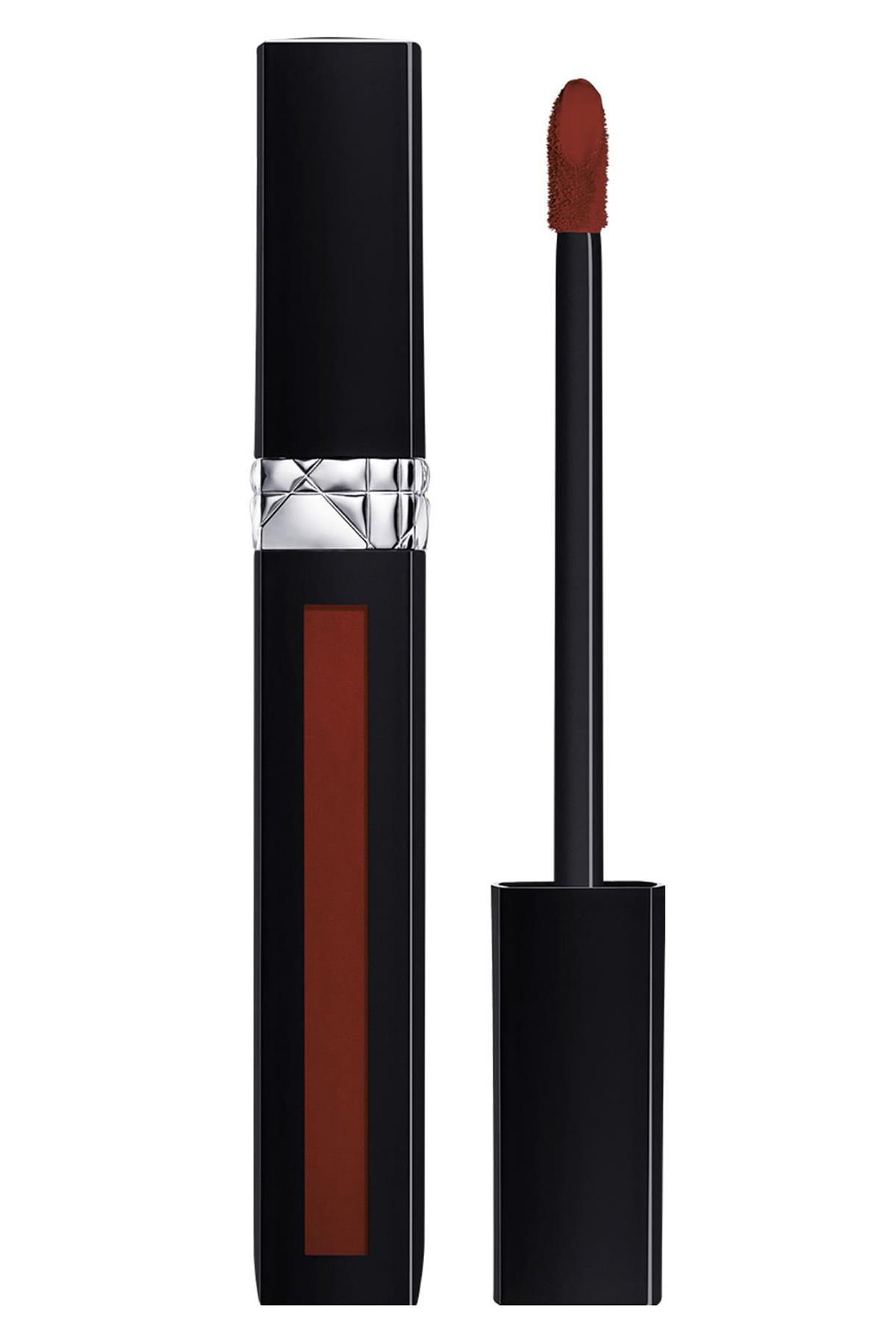 Dior Rouge Dior Liquid Lipstick Dressed To Matte 828
