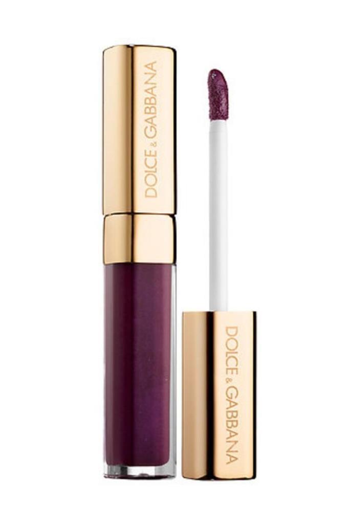 Dolce Gabbana Intense Colour Lipgloss 157 Purple Passion Ruj