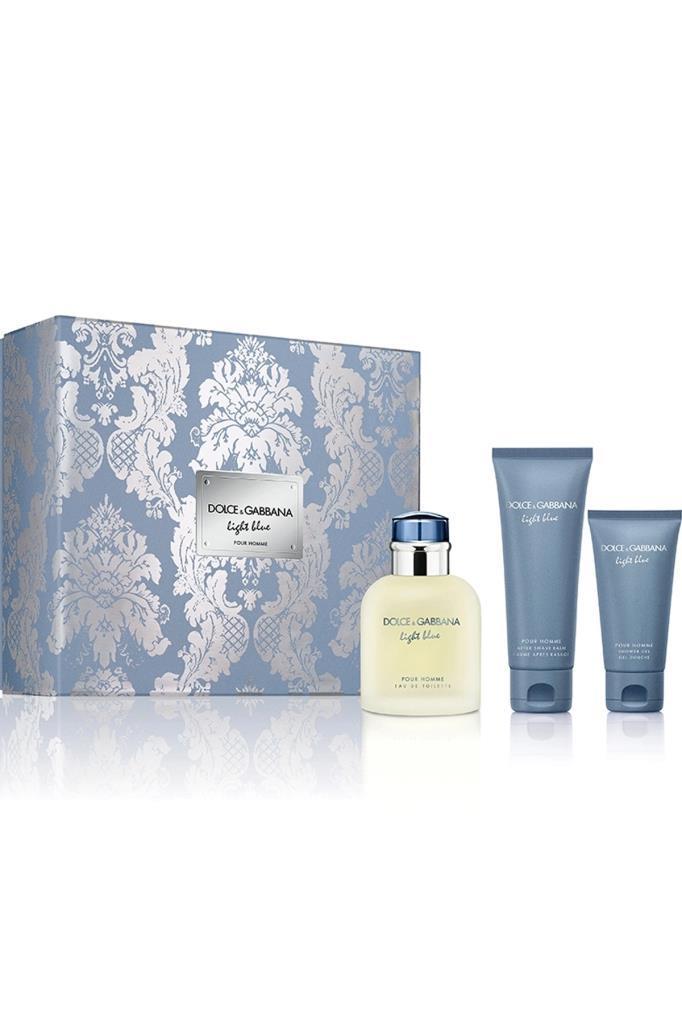 Dolce Gabbana Light Blue EDT 125 ml Erkek Parfüm Seti