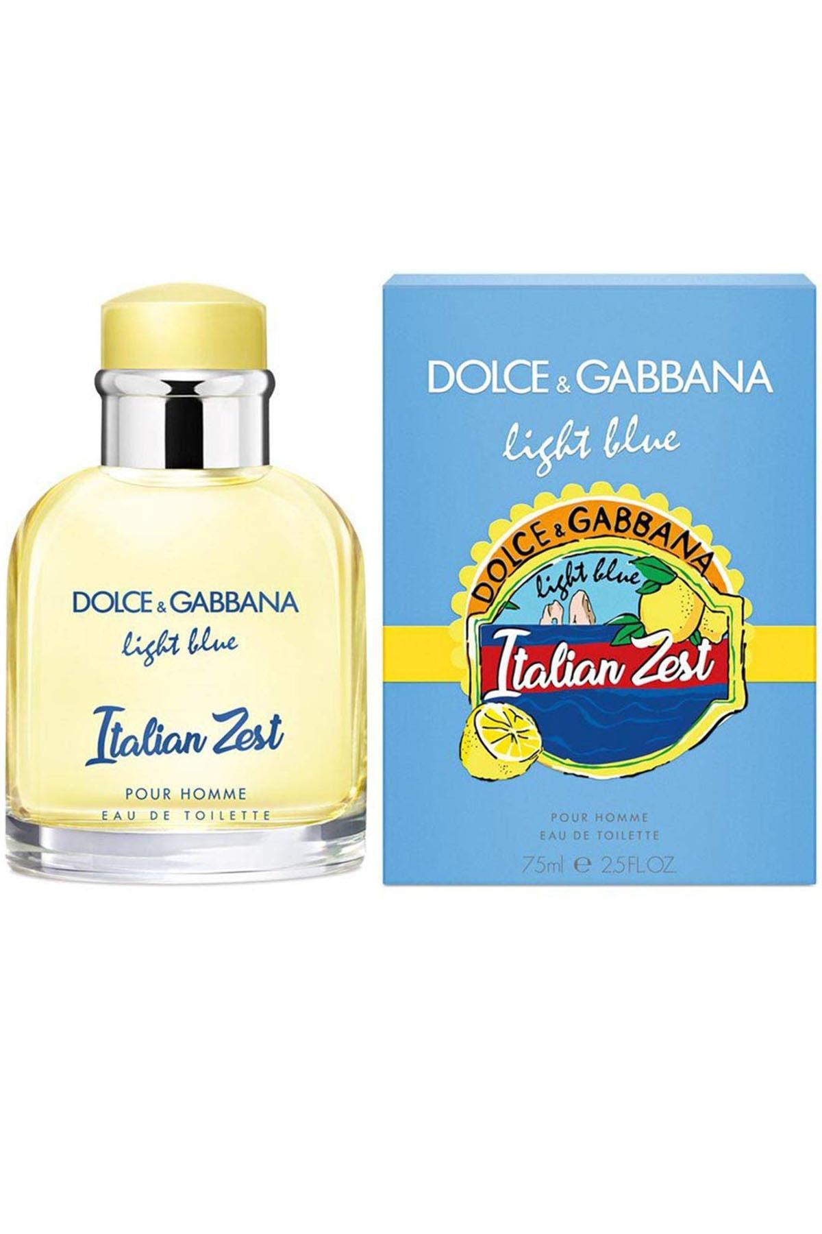 Dolce Gabbana Light Blue Italian Zest EDT 75 ml Erkek Parfüm