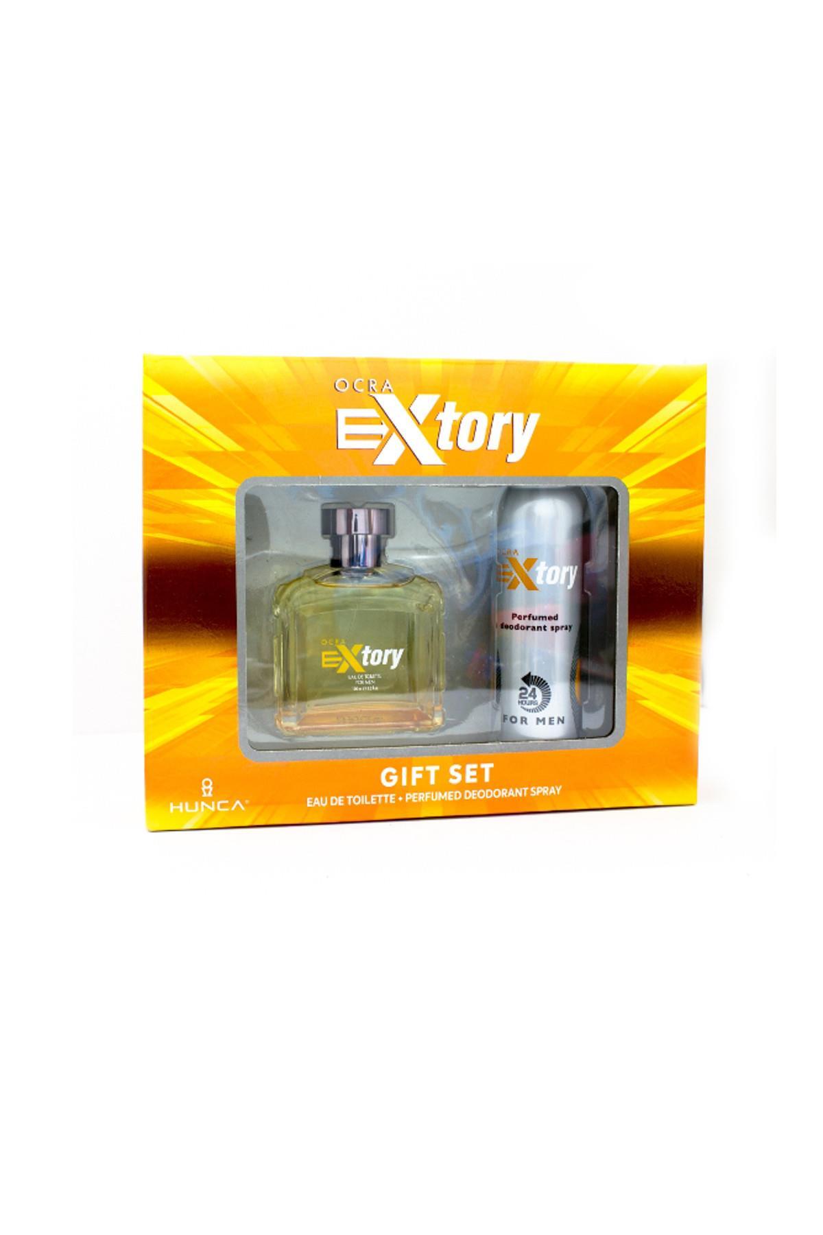 Extory Ocra EDT 100 ml Erkek Parfüm Seti