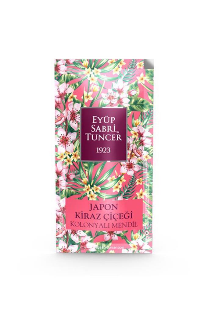 Eyüp Sabri Tuncer Kolonyalı Mendil Japon Kiraz Çiçeği 150 Adet