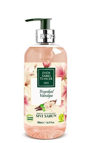 Eyüp Sabri Tuncer Tropikal Vanilya Sıvı Sabun 500 ml