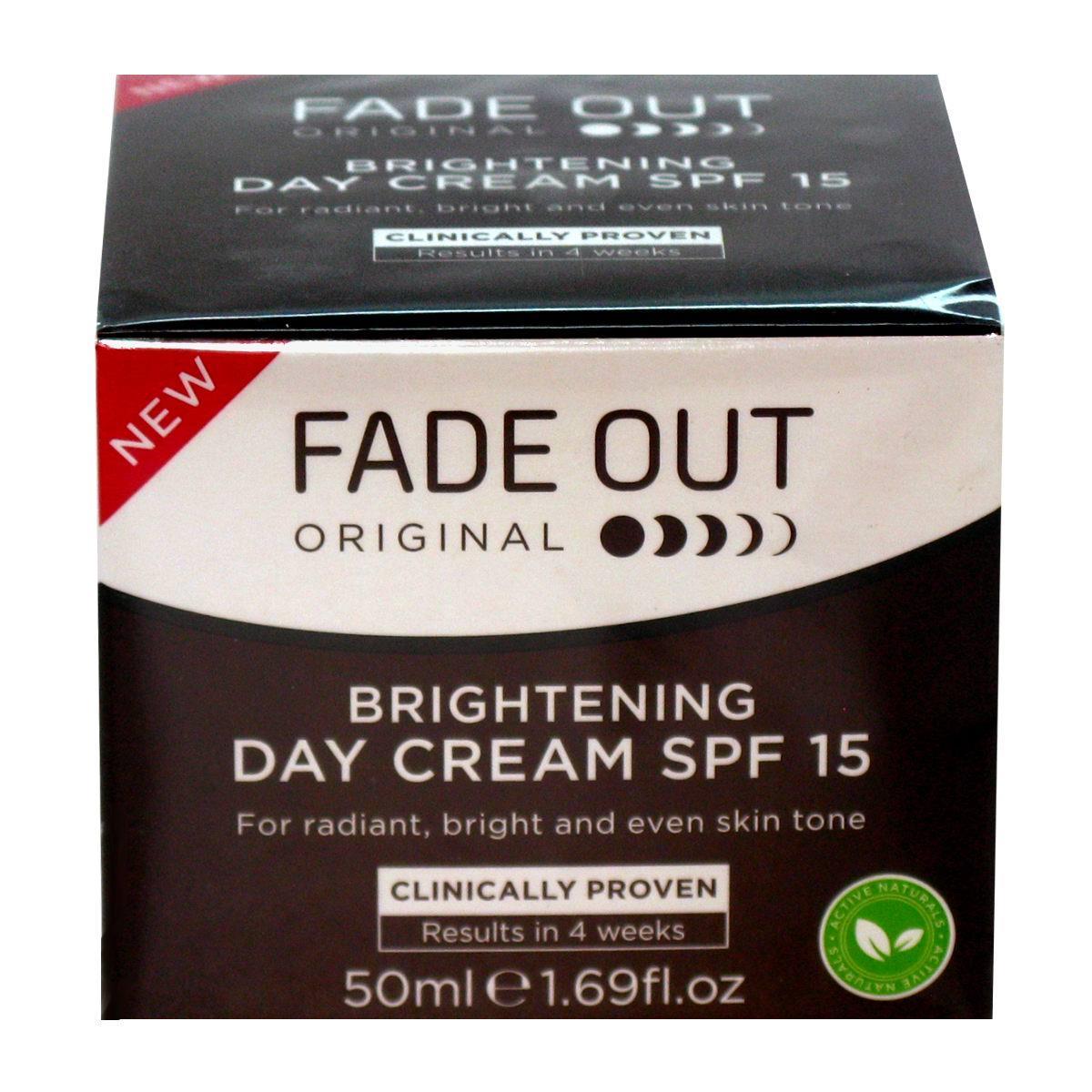 Fade Out Original Brightening Gündüz Kremi Spf 15-50 ml