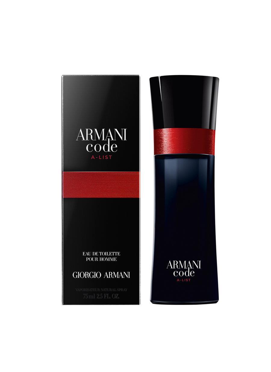 Giorgio Armani Code A-List EDT 75 ml Erkek Parfüm
