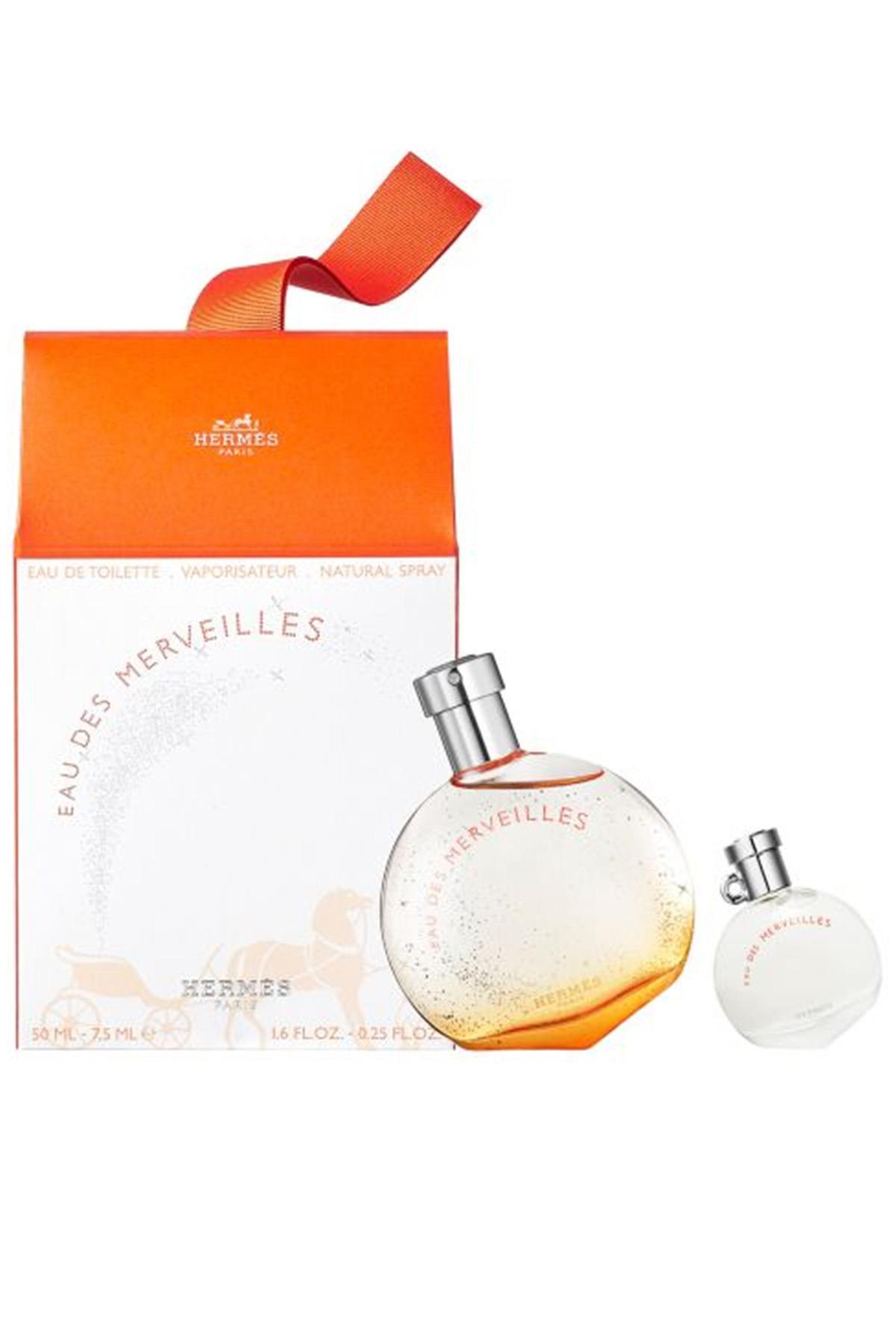 Hermes Eau Des Merveilles EDT 50 ml Kadın Parfüm Seti
