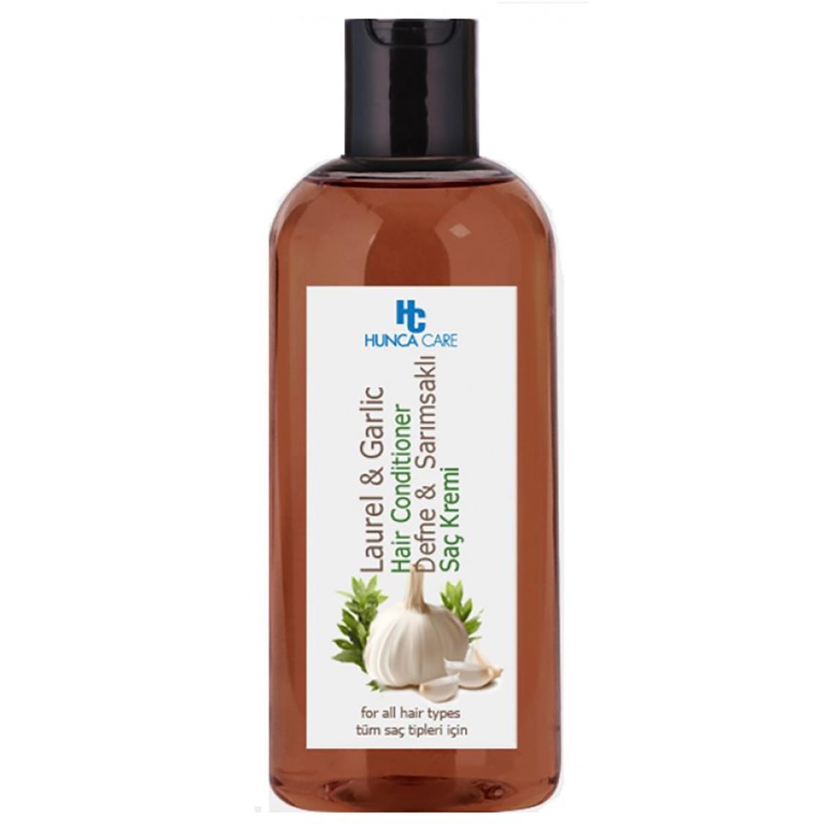 Hunca Care Defne ve Sarımsaklı Saç Kremi 400 ml