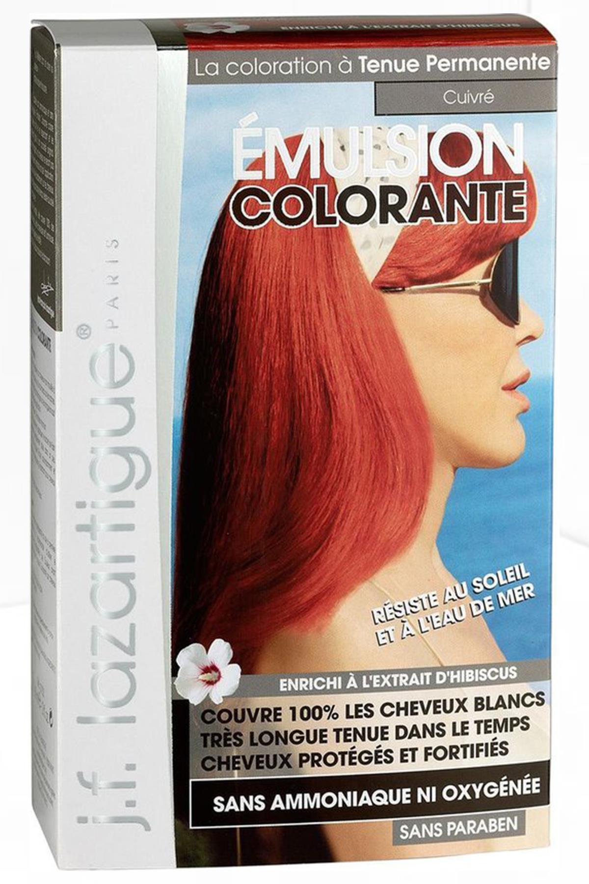 J.F Lazartigue Colouring Emulsion Copper Saç Boyası 60 ml