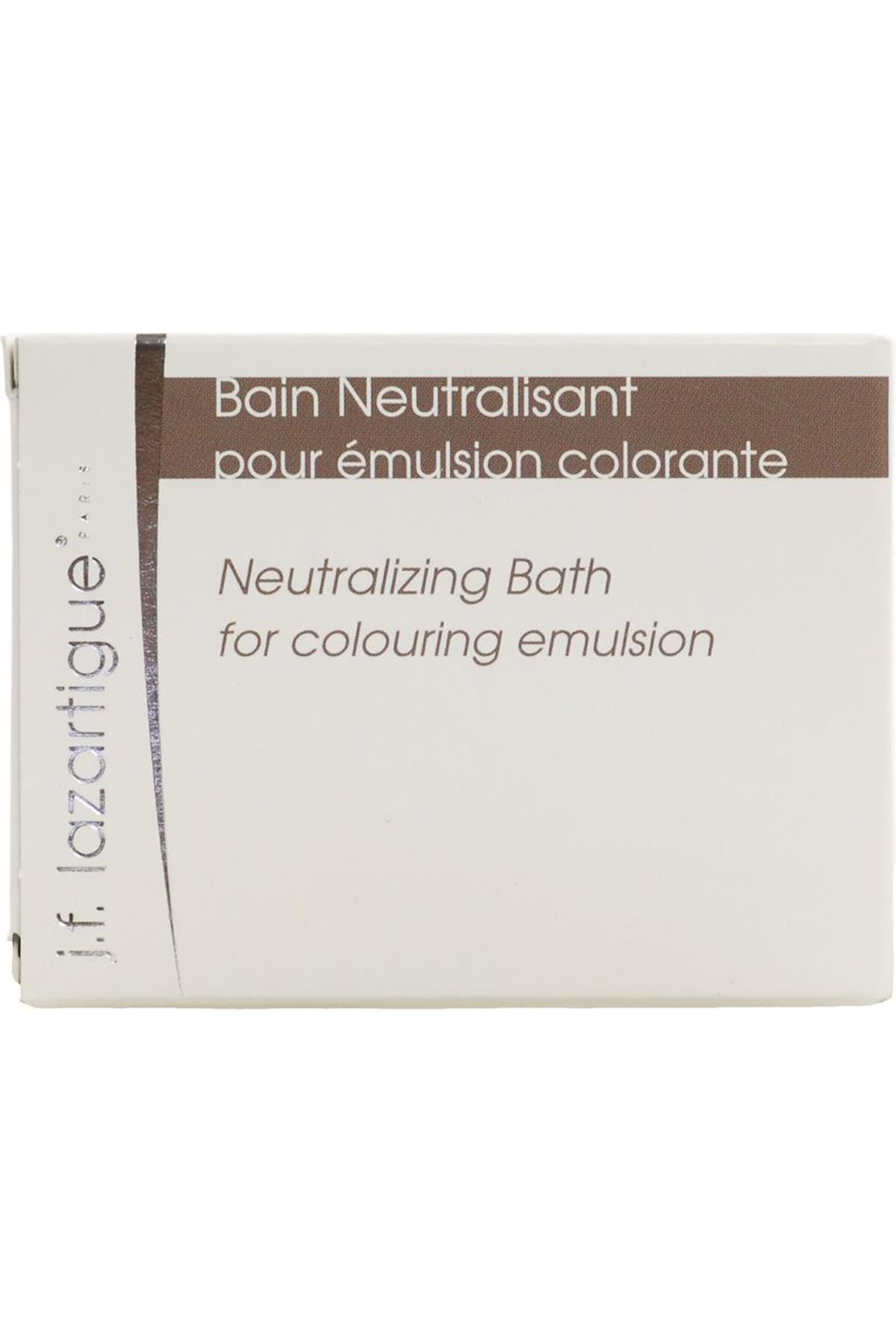 J.F Lazartigue Neutralizing Bath 4x6 ml