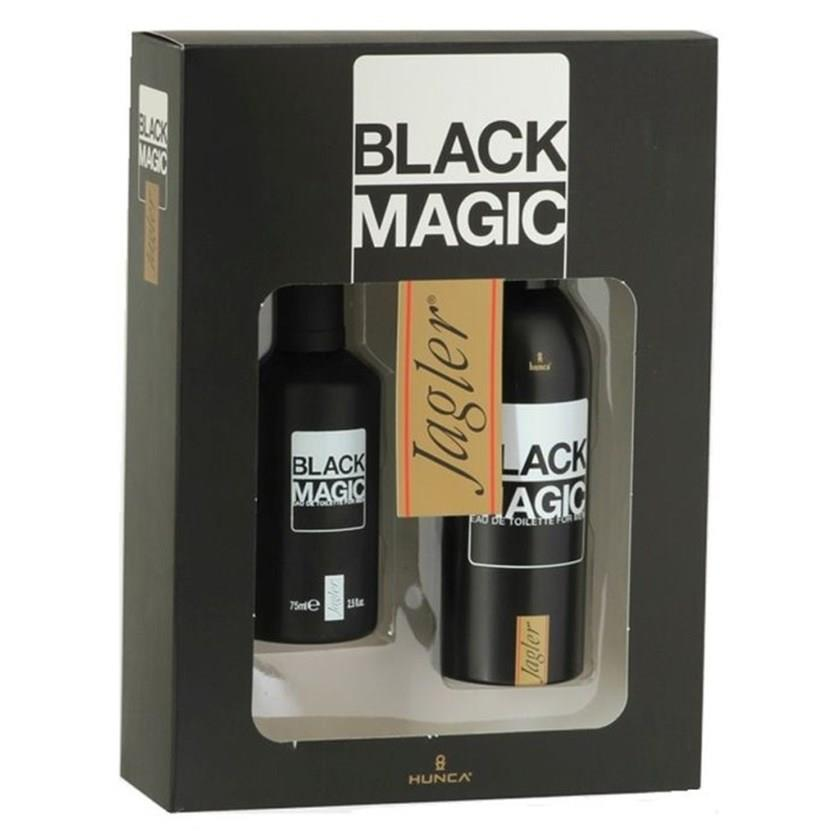Jagler Black Magic EDT 75 ml Erkek Parfüm Seti