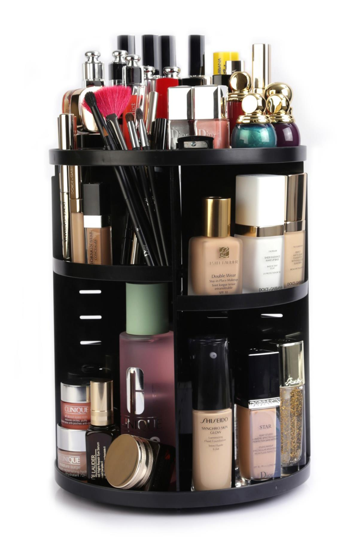 Make Up Organizer Black