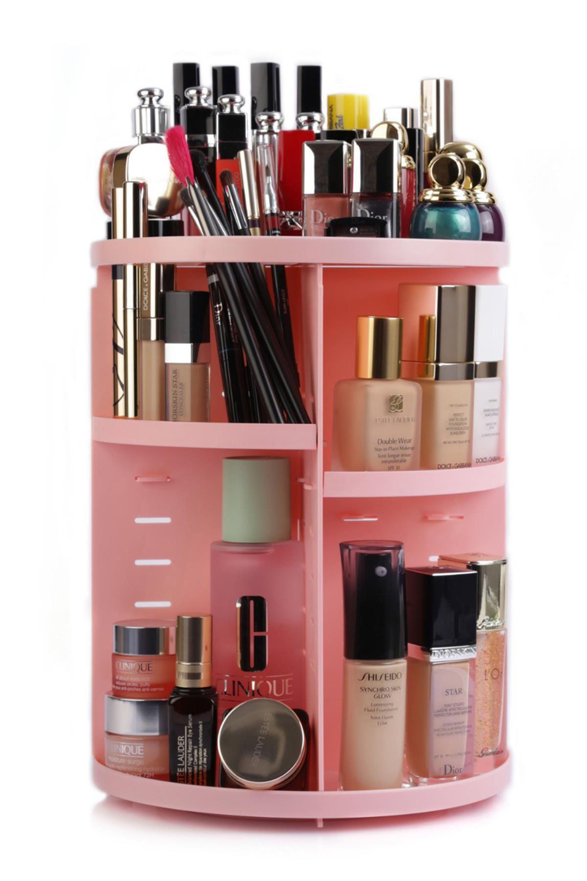 Make Up Organizer Pink