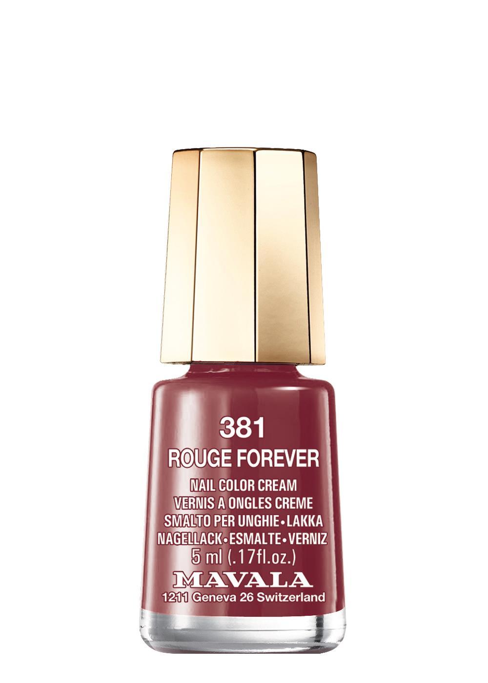 Mavala 381 Rouge Forever Oje