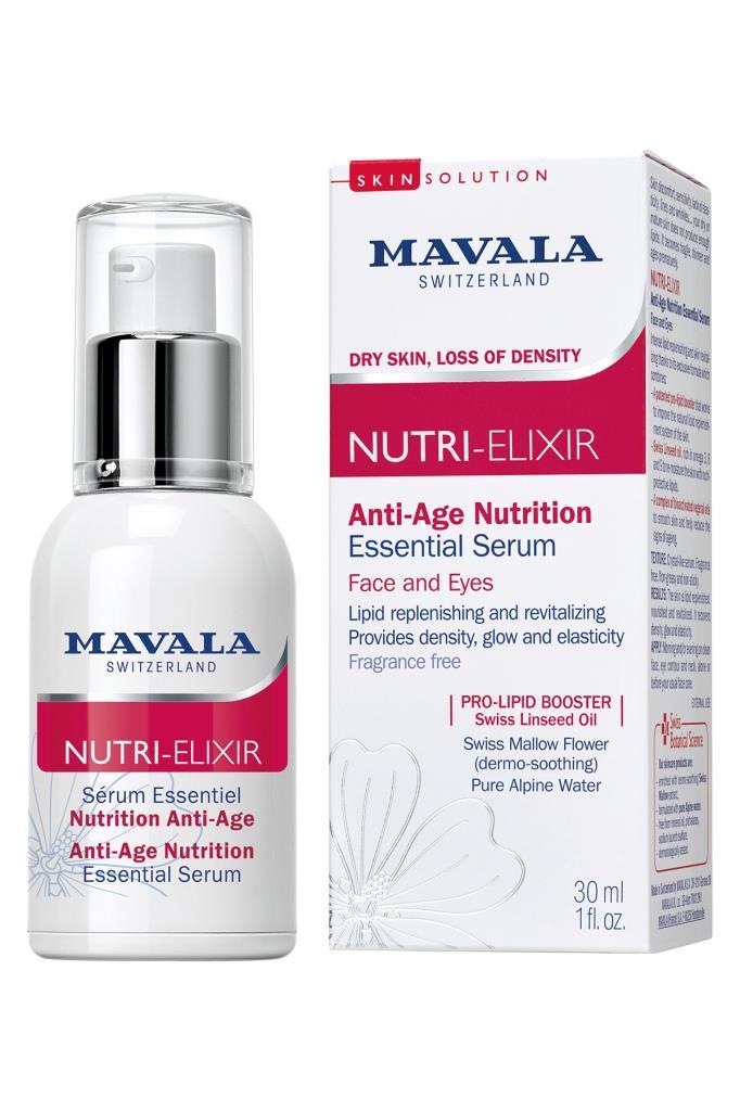 Mavala Nutri Elixir Anti Age Nutrition Essential Serum 30 ml