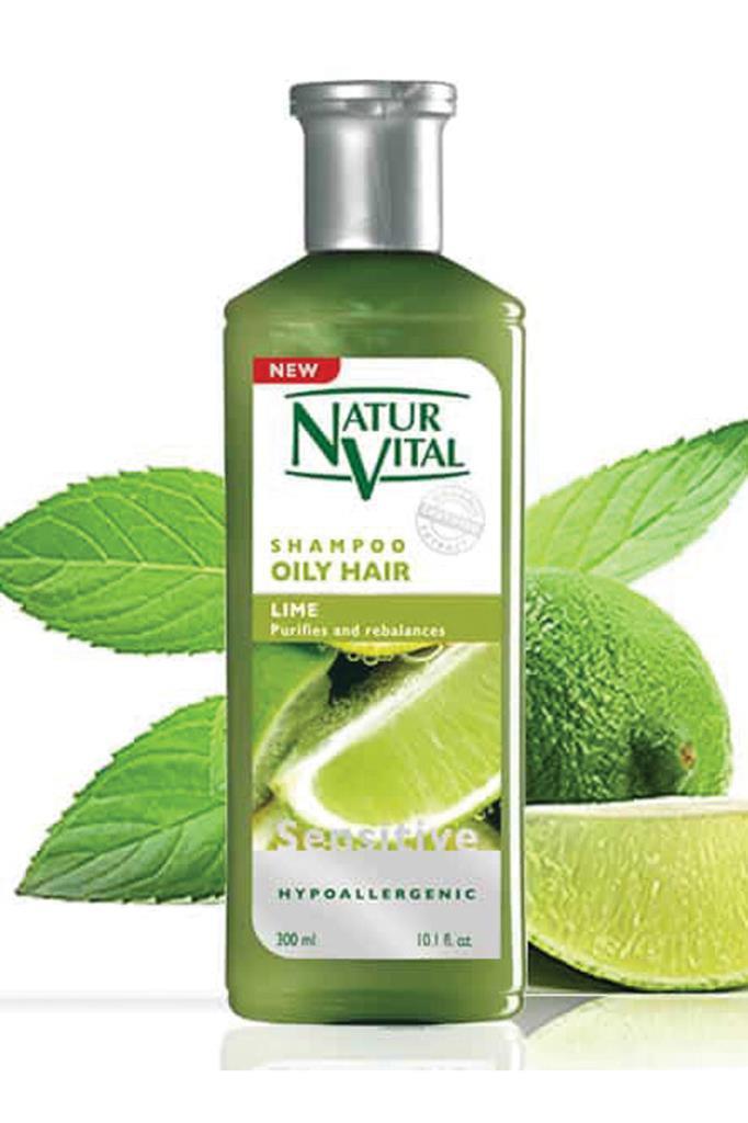 Natur Vital Sensetive Organic Lime Yağlı Saçlar İçin Şampuan 300 ml