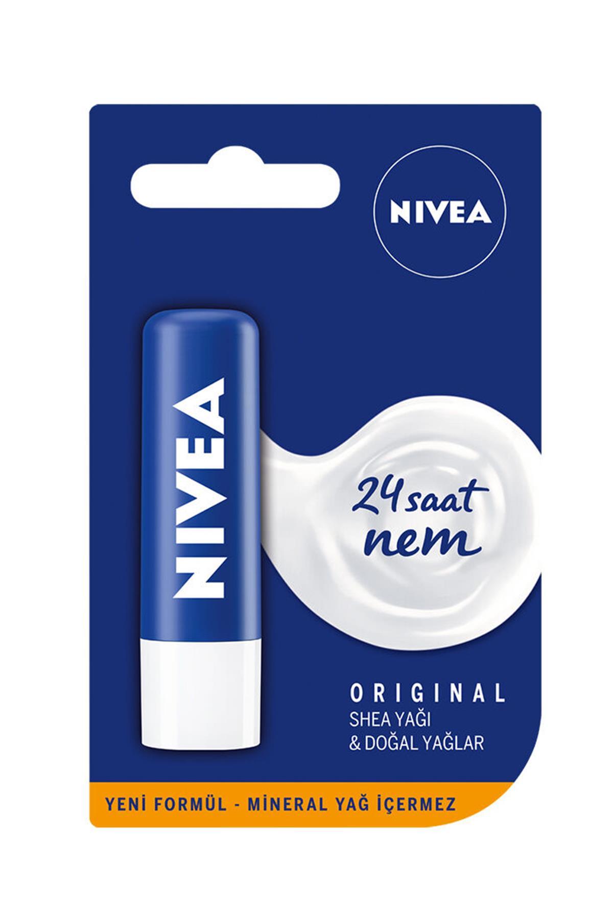 Nivea Lip Original Dudak Bakım Kremi 4,8 gr