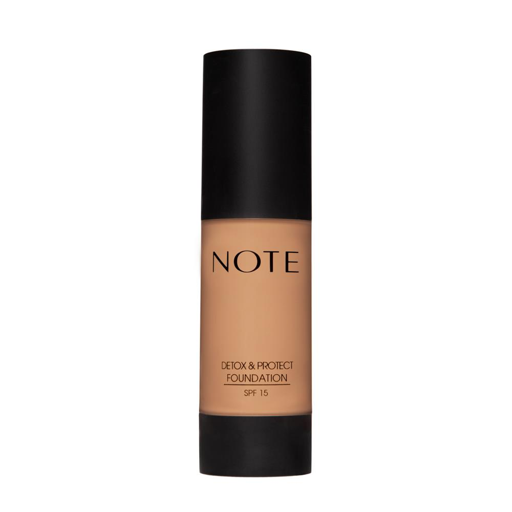 Note Detox Protect Fondöten 04 Sand