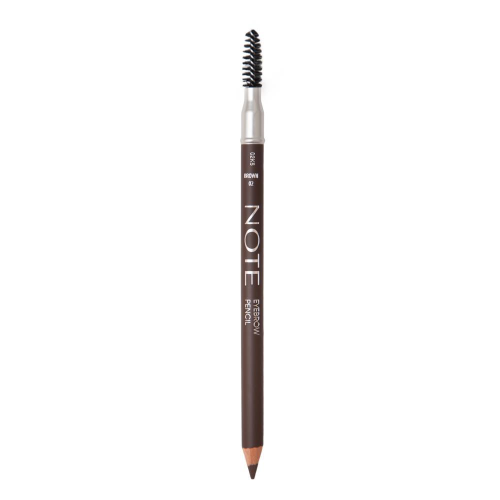 Note Eyebrow Pencil 02 Brown Kaş Kalemi