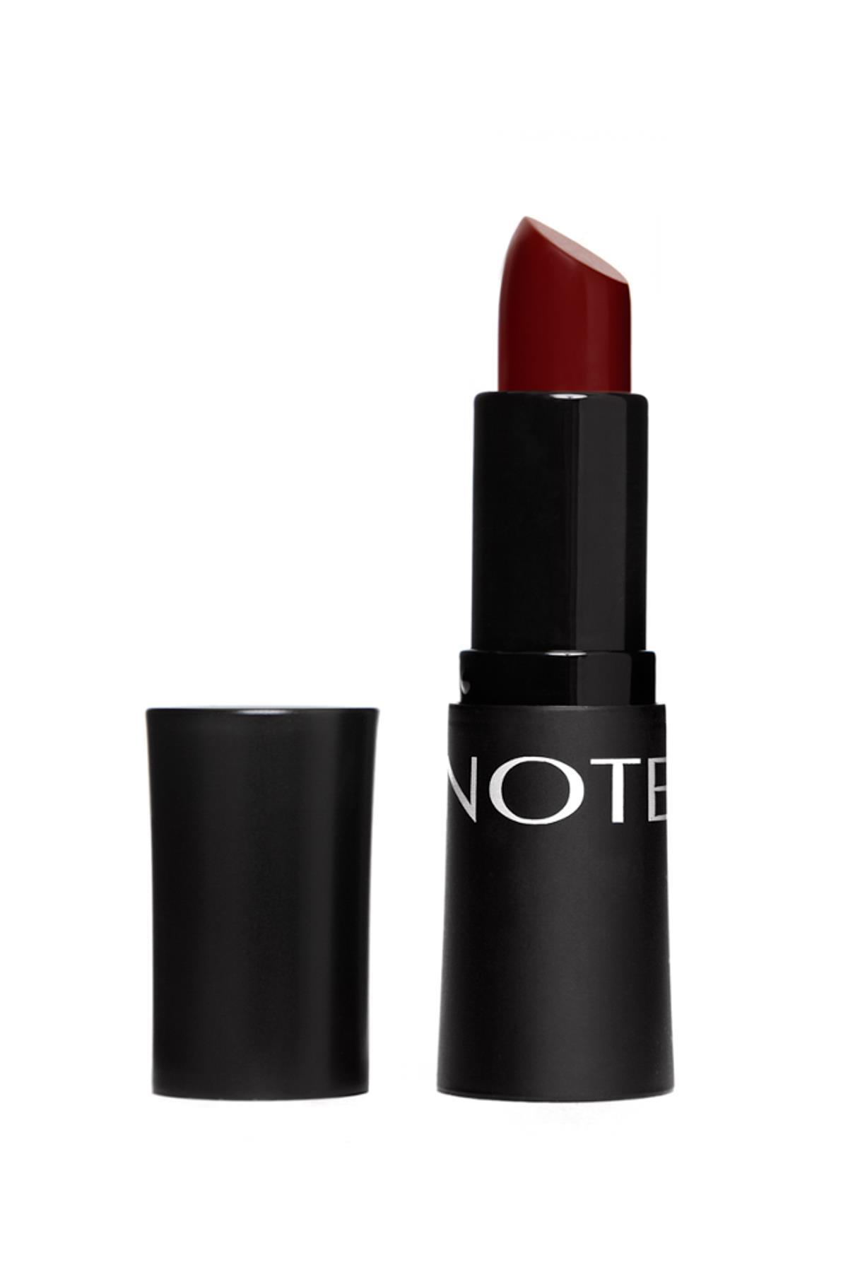 Note Mattemoist Lipstick 307 Dark Vine Ruj