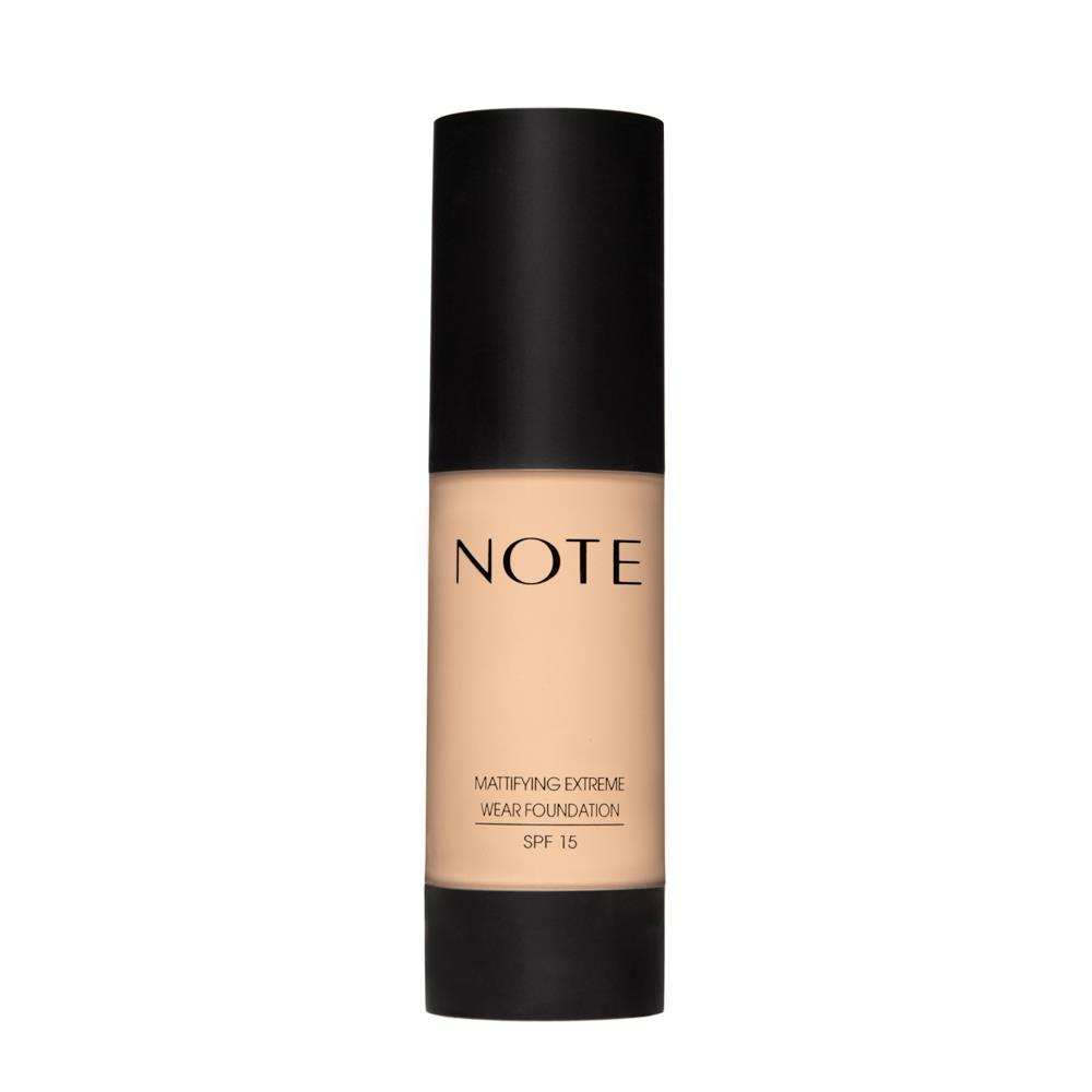 Note Mattifying Extreme Wear Foundation 02 Natural Beige