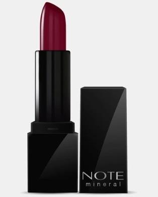 Note Mineral Semi Matte Lipstick 06 Berry Brown Ruj
