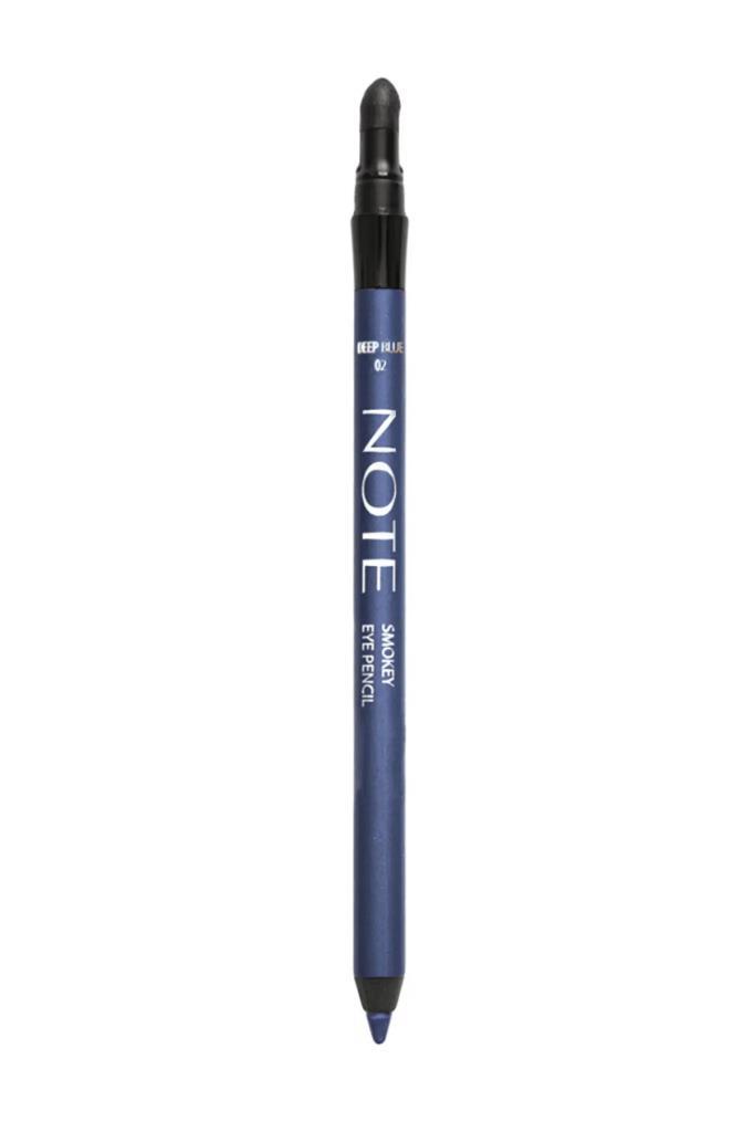Note Waterproof Smokey Eye Pencil 02 Deep Blue Göz Kalemi
