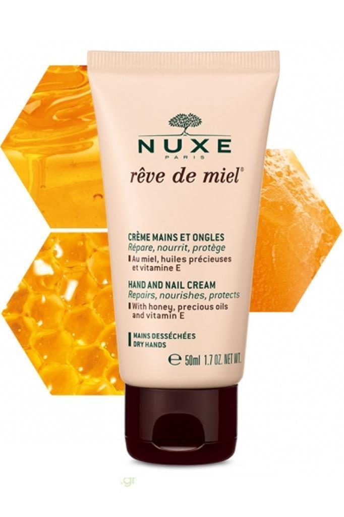 Nuxe Reve De Miel El ve Tırnak Kremi 2x50 ml