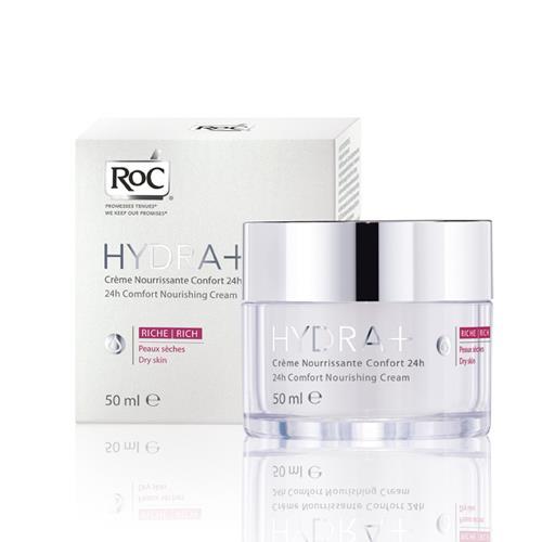 Roc Hydra+ 24H Comfort Besleyici Bakım Kremi 50 ml