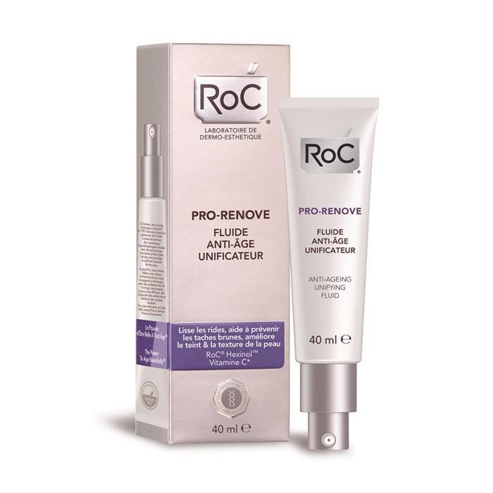 Roc Pro-Renove Fluid Cream 40 ml -Yaşlanma Etkilerine Karşı