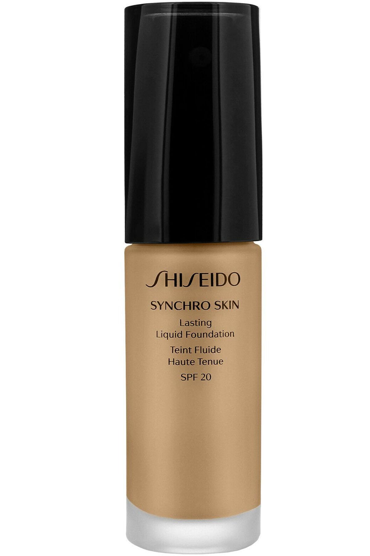 Shiseido Synchro Skin Lasting Fondöten SPF20 30 ml