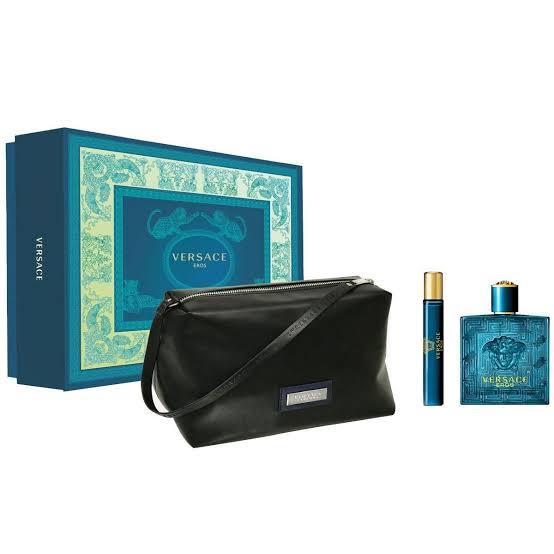Versace Eros EDT 100 ml Erkek Parfüm Seti