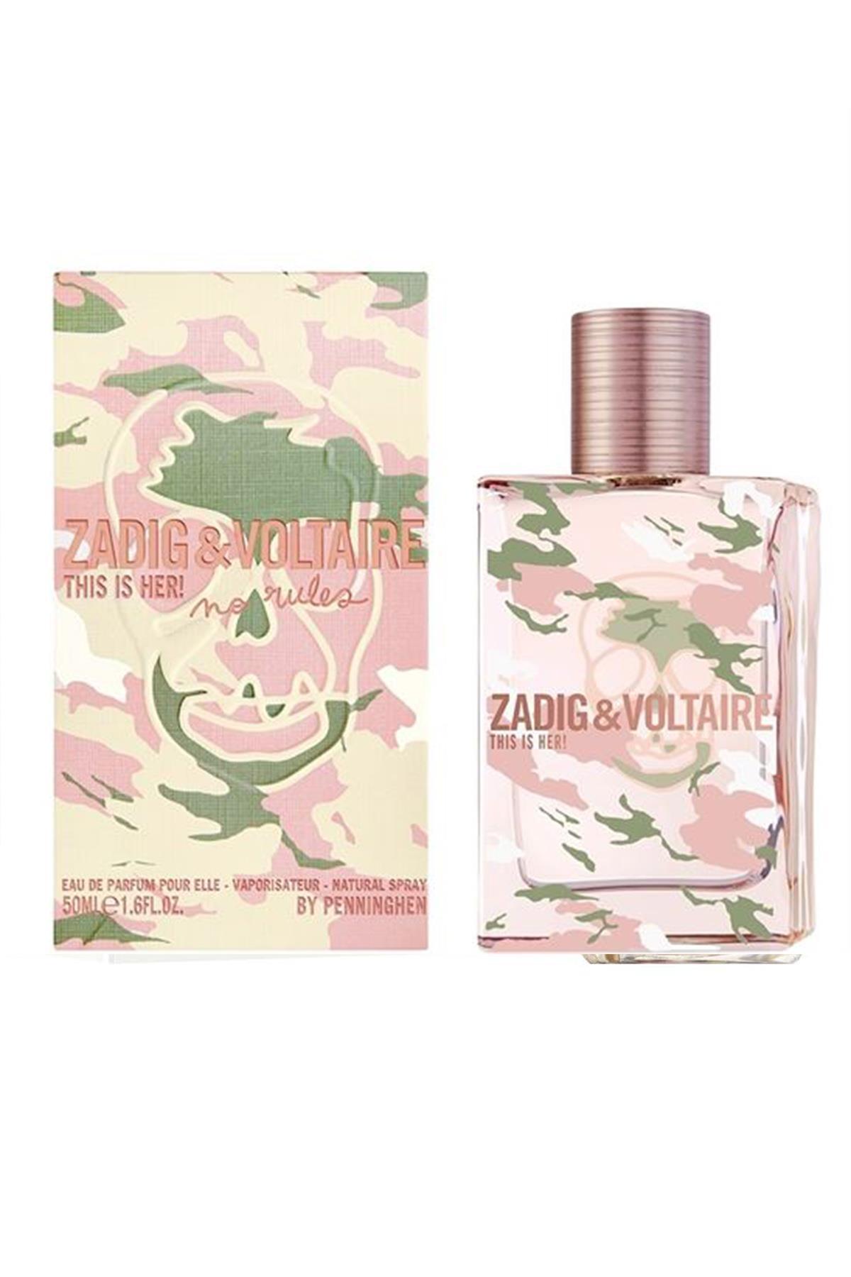Zadig Voltaire This Is Her No Rules EDP 50 ml Kadın Parfüm